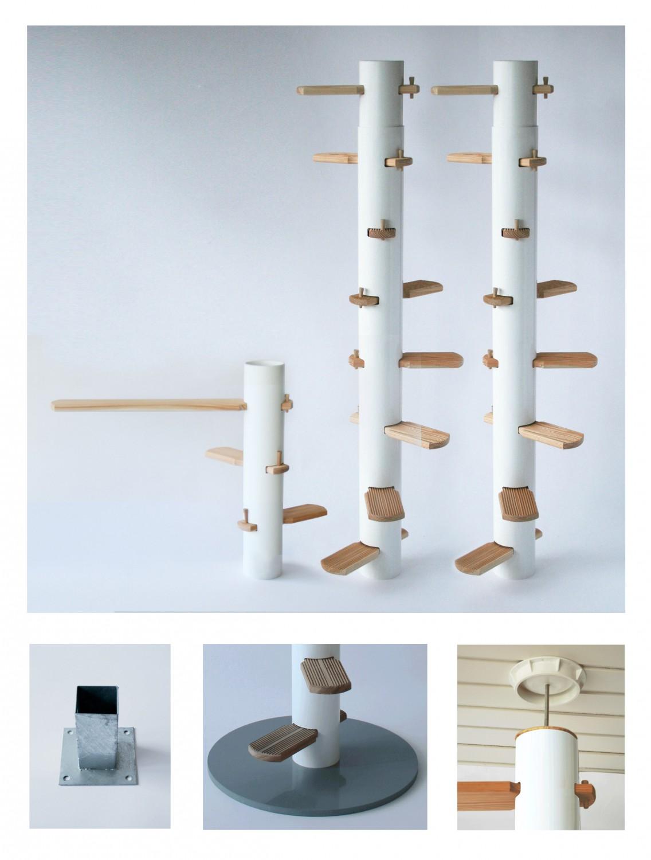 katzenleiter collage katzentreppen und katzenleitern online shop. Black Bedroom Furniture Sets. Home Design Ideas