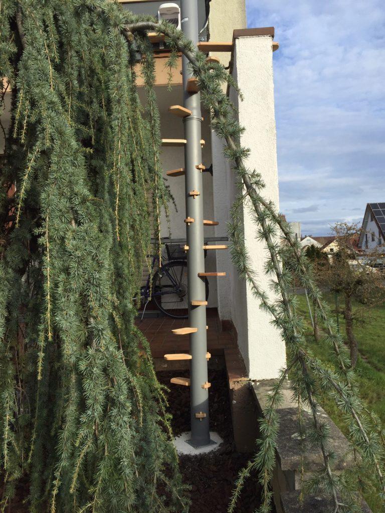 Katzentreppe Balkon Cattrip
